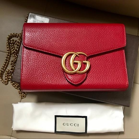 ee5fa43c6518 Gucci Bags | Marmont Woc | Poshmark